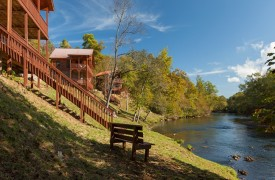 Hiwassee River Sanctuary | Cabin Rentals of Georgia | Relax Along the River