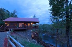 Hiwassee River Buffalo Ridge | Cabin Rentals of Georgia | Perfect Vacation
