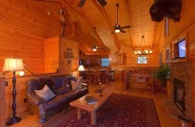 Hiwassee River Buffalo Ridge | Cabin Rentals of Georgia | Rustic Decor