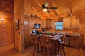 Hiwassee River Buffalo Ridge | Cabin Rentals of Georgia | Stocked Kitchen