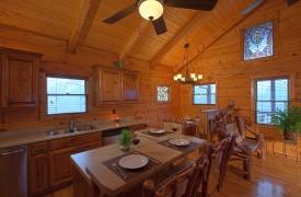 Hiwassee River Buffalo Ridge | Cabin Rentals of Georgia | Open Floor Plan