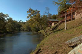 Hiwassee River Sanctuary | Cabin Rentals of Georgia | Overview of Cabins