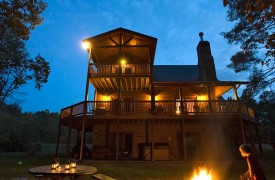Crooked Creek Cabin | Cabin Rentals of Georgia | Perfect Time for S'mores