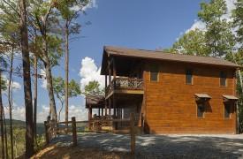 Arcadia | Cabin Rentals of Georgia | 2 Covered Wrap-Around Porches
