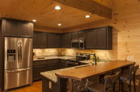 Arcadia | Cabin Rentals of Georgia | Fully Equipped Gourmet Kitchen