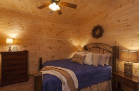 Arcadia | Cabin Rentals of Georgia | Beautiful Terrace Level Queen Suite
