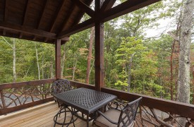 Arcadia | Cabin Rentals of Georgia | Private Balcony Off of King Suite