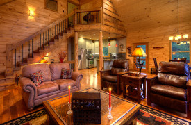 Blue Ridge Lake Sanctuary | Cabin Rentals of Georgia | Spacious Living