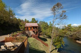 Hiwassee River Run | Cabin Rentals of Georgia | Exterior Of Cabin