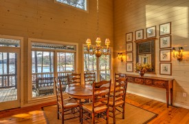 Blue Ridge Lake Cottage | Cabin Rentals of Georgia | Dining Area