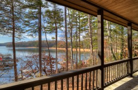 Blue Ridge Lake Cottage | Cabin Rentals of Georgia | Main Deck