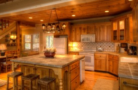 Blue Ridge Lake Cottage | Cabin Rentals of Georgia | Spacious Kitchen