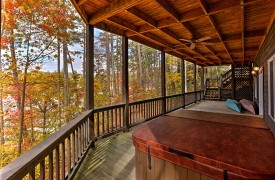 Blue Ridge Lake Cottage | Cabin Rentals of Georgia | Terrace Level Hot Tub, 2 Kayaks