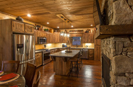 The Great Getaway | Cabin Rentals of Georgia | Kitchen