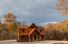 The Great Getaway | Cabin Rentals of Georgia | Exterior Front