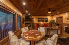 The Great Getaway | Cabin Rentals of Georgia | Game Room