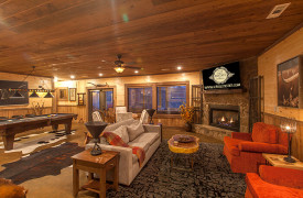 The Great Getaway | Cabin Rentals of Georgia | Game Room