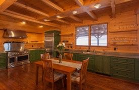 Sky High Lodge | Kitchen and Dining | Cabin Rentals of Georgia