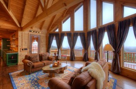 Sky High Lodge | Luxury Living with Mountain Views | Cabin Rentals of Georgia