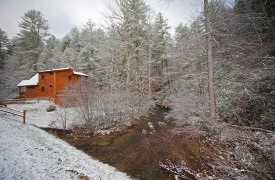 Crooked Creek Cabin | Cabin Rentals of Georgia | Wintertime