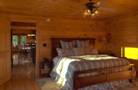 Serendipity On Noontootla Creek | Cabin Rentals of Georgia | King Suite