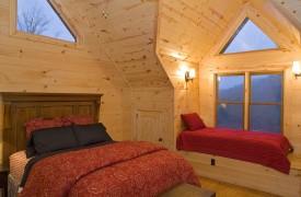 Fallen Timber Lodge   Cabin Rentals of Georgia   Upper Level Queen