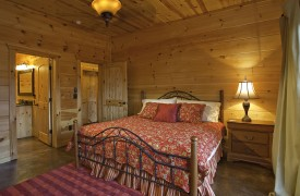 Aska Adventure Outpost | Cabin Rentals of Georgia | Terrace King Suite
