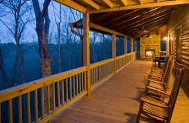 A Rivers Bend | Cabin Rentals of Georgia | Panoramic Mountain Views