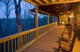 A Rivers Bend | Cabin Rentals of Georgia | Panoramic Mountain Views