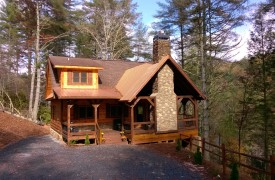 Aska Escape Lodge | Blue Ridge Cabins | Aska Adventure Area Cabin Rentals | Cabin Rentals of Georgia | Exterior