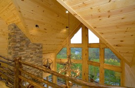 Outlaw Ridge | Cabin Rentals of Georgia | View of Living Room