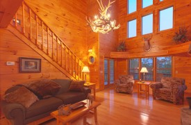 Skydance | Cabin Rentals of Georgia | Stunning Window Wall