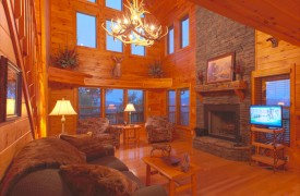 Skydance | Cabin Rentals of Georgia | Spacious Great Room