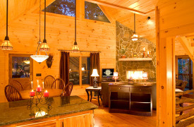 Aska Adventure Outpost | Cabin Rentals of Georgia | Gourmet Kitchen