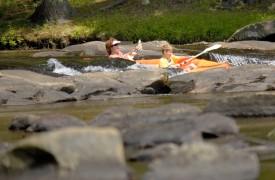 Aska Adventure Outpost   Cabin Rentals of Georgia   Kayak Down The River