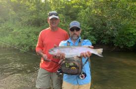 Aska Adventure Outpost   Cabin Rentals of Georgia   Fish Along River