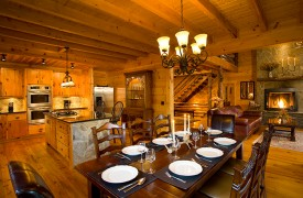 Fallen Timber Lodge | Cabin Rentals of Georgia | Fully Equipped Kitchen