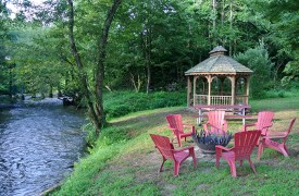 Serendipity On Noontootla Creek | Cabin Rentals of Georgia | River Area