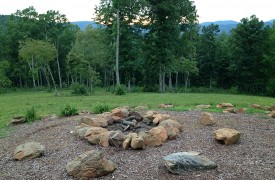 Cadence Ridge | Cabin Rentals of Georgia | Fire Pit