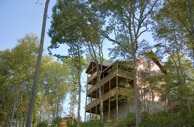 A Rolling River Cabin | Cabin Rentals of Georgia | Exterior Views