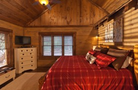 Time Flies | Cabin Rentals of Georgia | Master King Suite