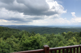 Sky High Lodge | Blue Ridge Mountain Views | Cabin Rentals of Georgia