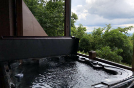 Sky High Lodge | Hot Tub with Endless Mountain Views | Cabin Rentals of Georgia