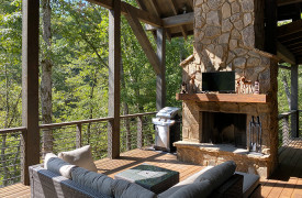 Creekside Bend | Blue Ridge Luxury Cabin Rental | Cabin Rentals of Georgia | Outdoor Living