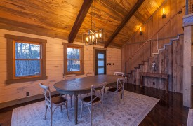 River Heights Lodge | Cabin Rentals of Georgia | Dining at Dusk