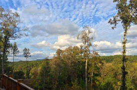 A Mayfly Lodge & Treehouse | Cabin Rentals of Georgia | Beautiful Mountain View