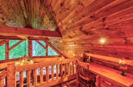 Aska Escape Lodge | Blue Ridge Cabins | Aska Adventure Area Cabin Rentals | Cabin Rentals of Georgia | Loft Desk