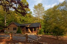 Time Flies | Cabin Rentals of Georgia | Exterior View