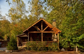 Time Flies | Cabin Rentals of Georgia | Covered Porch