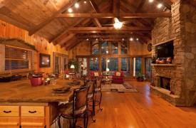 Time Flies | Cabin Rentals of Georgia | Great Room